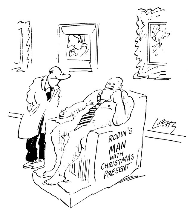 Larry Terence Parkes Cartoons From Punch Magazine